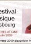 Festival de musique de Strasbourg   2008