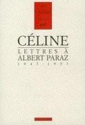 Lettres à Albert Paraz