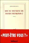 Qui se souvient de David Foenkinos ?
