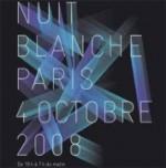 Nuit blanche Paris 2008