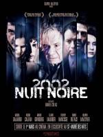 Nuit noire 2002 - Affiche
