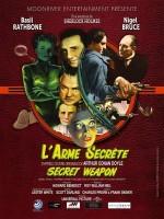 Sherlock Holmes et l'Arme secrète - Affiche
