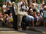 Un jour à Chalon dans la rue:du grand art et des trous d'air