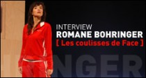 INTERVIEW DE ROMANE BOHRINGER