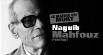 PORTRAIT DE NAGUIB MAHFOUZ