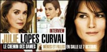 INTERVIEW DE JULIE LOPES-CURVAL