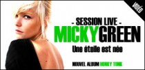 SESSION LIVE DE MICKY GREEN