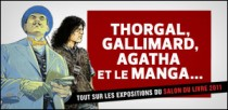 THORGAL, GALLIMARD, AGATHA ET LE MANGA...