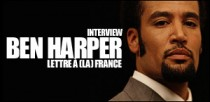 INTERVIEW DE BEN HARPER
