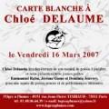 Carte blanche à Chloé Delaume