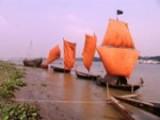 Voiles anciennes du Bangladesh