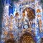 La cathédrale de Monet aux pixels