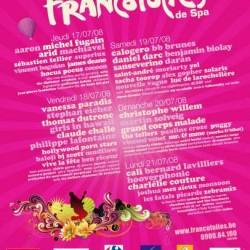 Affiche Francofolies de Spa