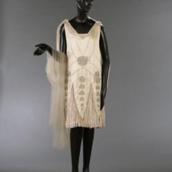 Agnès, vers 1925. Robe du soir