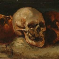 Théodore Géricault, Les Trois Crânes, 1812-1814