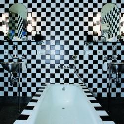 Salle de bains de l'hôtel Morgans, 1984