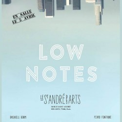 Low Notes - Affiche