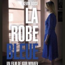 La Robe bleue - Affiche