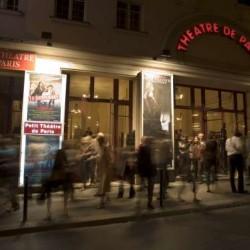 Façade du théâtre de Paris