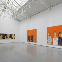 Alex Katz, vue de l'exposition Fashion 2009