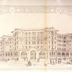 En 1910 : hôtel populaire pour hommes célibataires