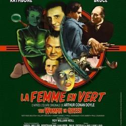 La Femme en vert - Affiche