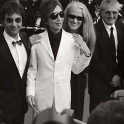 Michael Cimino (au centre) - Cannes 2007