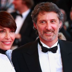 Daphné Roulier et Antoine de Caunes, Cannes 2007