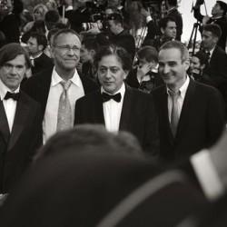 Olivier Assayas (à droite) - Cannes 2007