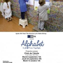 Alphabet - Affiche