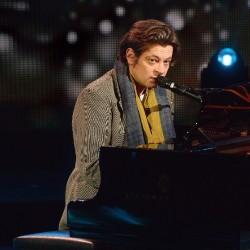 Benjamin Biolay en concert à la Maison de la radio, en janvier 2015.