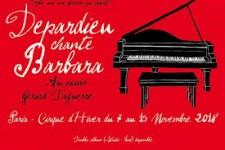 Depardieu chante Barbara au Cirque d'Hiver