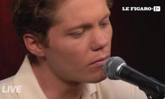 Le live du Figaro : Korey Dane chante Lion Keeper en janvier 2016