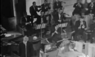"""""""Les fiancés d'Auvergne"""", live d'André Verchuren le 20 janvier 1966 - Archives INA"""