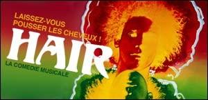LA COMEDIE MUSICALE 'HAIR'
