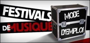 FESTIVALS DE MUSIQUE