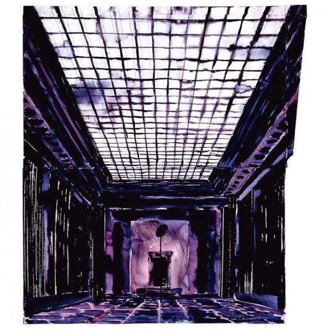 ANSELM KIEFER  Innenraum [Intérieur], 1982