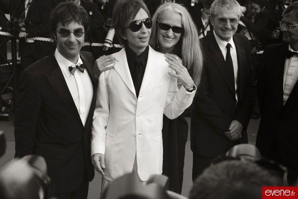 Michael Cimino (au centre) - Cannes 2007