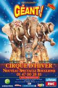 Cirque d'Hiver Bouglione : Géant !