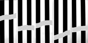 Daniel Buren : Comme un jeu d'enfant, travaux in situ, 2014