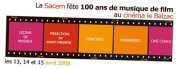 La Sacem fte 100 ans de musique de film
