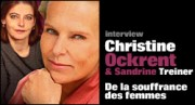 INTERVIEW DE CHRISTINE OCKRENT ET SANDRINE TREINER