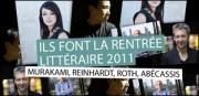 ILS FONT LA RENTRÉE LITTÉRAIRE 2011