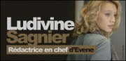 LUDIVINE SAGNIER RDACTRICE EN CHEF D&#039;EVENE