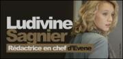 LUDIVINE SAGNIER RÉDACTRICE EN CHEF D'EVENE