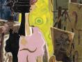 Femme à la palette, George Braque. Exposition au Grand Palais du 18 septembre au 6 janvier 2014 - Georges Braque